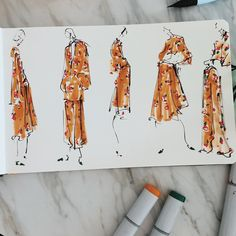 Jeanette Getrost fashion illustration - From Parts Unknown