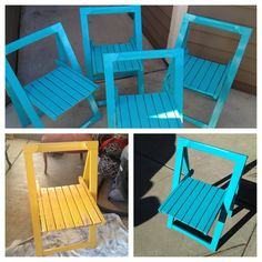 Fun Vintage Folding Chairs!