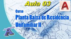 Planta Baixa de Residência Unifamiliar II – Aula 03 - Ferramentas para D...