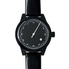 squarestreet Watch - Minuteman One Hand - Black/Black (twistedtime.com)