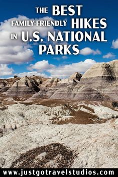 The Blue Mesa Trail in Petrified Forest National Park is one of the hikes featured in our blog on the Best Hikes in U.S. National Parks for Families.  See what else made the list! #justgotravelstudios #petrifiedforestnationalpark #bluemesa #bestnationalparkhikes Havasu Falls Hike, Places To Travel, Places To See, Petrified Forest National Park, Arizona Travel, Arizona Trip, Us National Parks, Best Hikes, Travel Usa