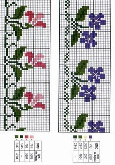Cross Stitch Bookmarks, Cross Stitch Rose, Cross Stitch Borders, Cross Stitch Alphabet, Cross Stitch Flowers, Cross Stitch Designs, Cross Stitching, Cross Stitch Embroidery, Cross Stitch Patterns