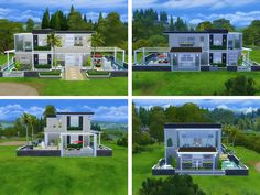 Lovely two story house for your sim or sim family Found in TSR Category 'Sims 4 Residential Lots'