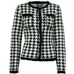 Sutton Studio Womens 100% Merino Wool Houndstooth Jacket and other apparel, accessories and trends. Browse and shop 2 related looks.