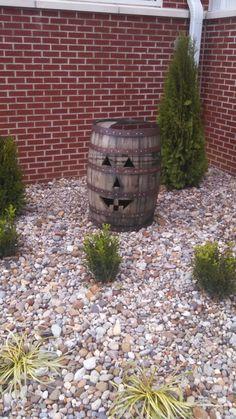 Pumpkin barrel