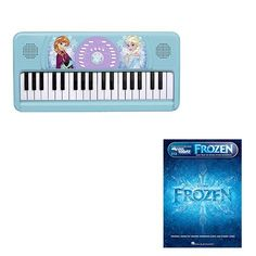 Frozen Keyboard Deluxe w/Frozen Beginner Book @ niftywarehouse.com #NiftyWarehouse #Frozen #FrozenMovie #Animated #Movies #Kids