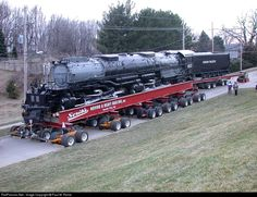RailPictures.Net Photo: UP 4023 Union Pacific Steam 4-8-8-4 at Omaha, Nebraska by Paul M. Rome Union Pacific Train, Union Pacific Railroad, Railroad Pictures, Railroad Photography, Road Train, Train Pictures, Train Engines, Steam Engine, Steam Locomotive