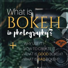 A simple explanation of Bokeh in Photography. Dslr Photography Tips, Double Exposure Photography, Levitation Photography, Photography Tips For Beginners, Water Photography, Photography Lessons, Stunning Photography, Photography Projects, Macro Photography
