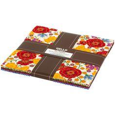 Robert Kaufman Fabrics Florentine Garden Tens Layer Cake Multi | Fabric Square 10 Inch
