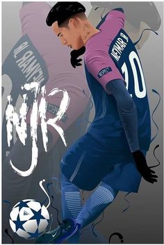 Ronaldo Football, Messi And Ronaldo, Fifa Football, Cristiano Ronaldo 7, Football Art, Football Players, Neymar Psg, Messi And Neymar, Lionel Messi