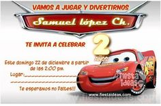 #BirthdayParty #Cars #2yearsold #invitations
