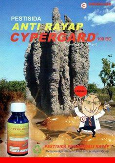 Bahan obat anti rayap CYPERGARD 100EC ini terbukti 100% dapat membunuh hama rayap  kami jamin asli, berkualitas , bermutu , berijin kementerian pertanian Republik Indonesia dan ramah lingkungan .