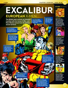 First appearance Excalibur, vol.1 #92 (December 1995).