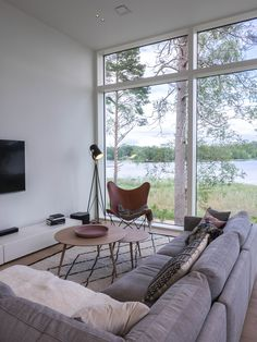 Home And Living, Living Room, Interior Decorating, Interior Design, Cabins In The Woods, Dream Decor, Simple Designs, Interior And Exterior, Small Spaces