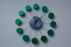 PEARL GREEN Wall Clock by chronology on Etsy, $125.00