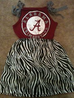 @ Chelsea Whigham.....Bama dress, bet Brileigh would look cute in this!!