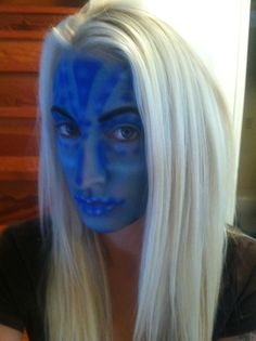 Avatar airbrush makeup