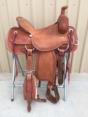Corriente Ranch Association Saddle SB311 - The Sale Barn - 1