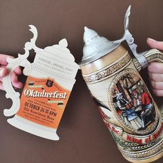Just add beer. Cheers! Lederhosen optional. Happy October!