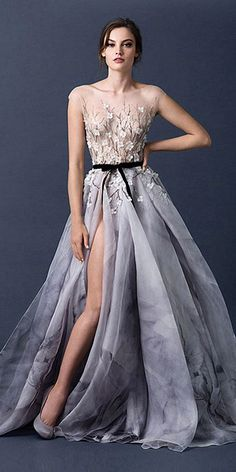 24 Totally Unique Fashion Forward Wedding Dresses ❤ See more: http://www.weddingforward.com/fashion-forward-wedding-dresses/ #weddings #dress