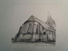 Old church in Borne, Holland
