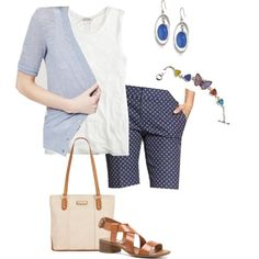 Untitled #809 by texasgal50 on Polyvore featuring J.Crew, Banana Republic, Steve Madden, Marc Fisher and Lucky Brand