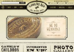 40 Vintage and Retro Web Design Inspirations via Inspiration Feed