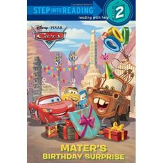 Cars - Mater's Birthday Surprise (Step into Reading)