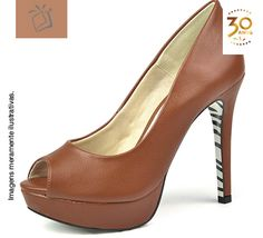 Sapato com meia pata: Cat. Fianceé - Pág. 506, Ref. MP740516