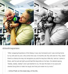 Chris Pratt on the best day of his life (AAAAWWWWW) i am now very proud I'm from Seattle