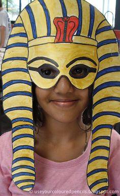 Tutankhamen Masks - Mystery of History 1
