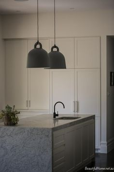 Kitchen inspiration | Normann Copenhagen Bell lamps are available at www.istome.co.uk