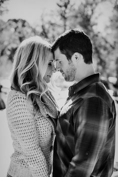 Engagement photo ideas - showing the intimacy