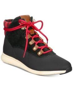 3602827b449 Cole Haan Women s ZeroGrand Hiker Booties   Reviews - Boots - Shoes - Macy s