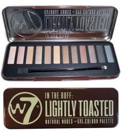 W7 Natural Nudes Naked Eye Colour Palette New (W7 Lightly Toasted) W7