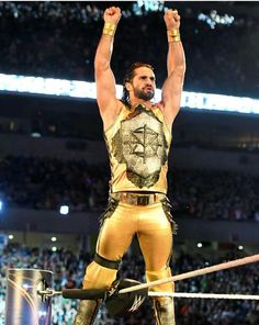 Seth Rollins Wrestlemania 33