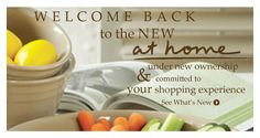 Welcome home! Introducing At HOme - your new favorite shopping spot for home decor and accessories.