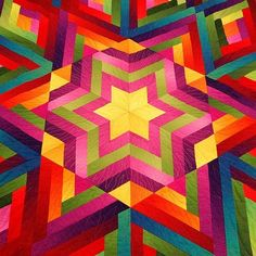 love the look of this quilt