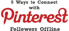 5 ways to connect with Pinterest
