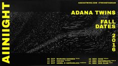 ADANA TWINS ALLNIGHT #c4d #egyd #animation #poster #print #aftereffects #noise #pattern #texture #egyd.studio #typography #adanatwins