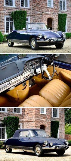 Citroën DS19 Cabriolet de série by Henri Chapron 1963