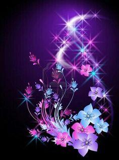 Pin By LovelyGirl On Wallpapers Butterflies Flowers Neon