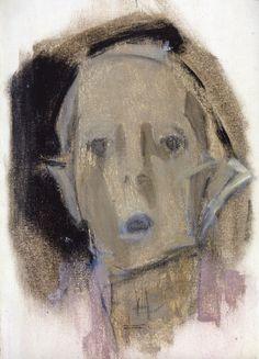 The Athenaeum - Self-Portrait in Black and Pink (Helene Schjerfbeck - ) Helene Schjerfbeck, L'art Du Portrait, Portraits, Painter Artist, Figurative Art, Still Life, Scandinavian, Drawings, Illustration