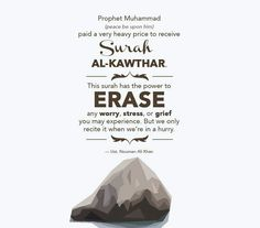 Al Kawthar is usually recited when you're rushing to complete salah , but once you learn abt the prevailing circumstances of its revelation & context ; you'll gain a new appreciation of this short yet pithy surah. Quran Quotes Love, Allah Quotes, Muslim Quotes, Religious Quotes, Qoutes, Islamic Inspirational Quotes, Islamic Quotes, Nouman Ali Khan Quotes, Talent Quotes