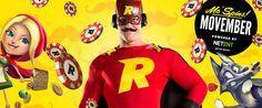#Movember im #Rizk #Casino