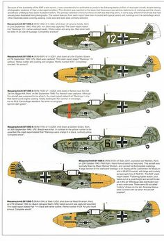 (For Aero Modelers) Messerschmitt Bf 109 E Camouflage and Markings 1940 (45)