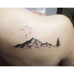 Little Libra mountain range. #tattooart #tattoo #art #artist #sharpie…