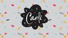 Creación de la marca para Caeli #caeli #youtube #vloggers #vlog #videoblog #caelike #mimimimiercoles  Diseño de @Paulina Bm