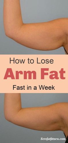 Do you Want to Get Rid of Flabby Arm Fat? Try These Tips on How to Lose Arm Fat Fast in a Week - 9 Best Arm Fat Workouts. These simple exercises will eliminate arm flab and tone upper body fast at home Lose Arm Fat Fast, Fat To Fit, Lose Belly Fat, How To Lose Weight Fast, Lose Fat, Quick Weight Loss Tips, Losing Weight Tips, Weight Gain, Body Weight