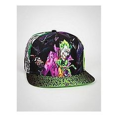 Joker Hahaha Brim Snapback Hat